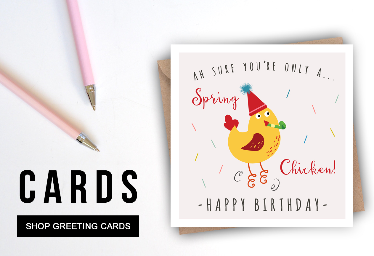 HOMEPAGE HERO_GREETING CARDS_SPRING CHICKEN