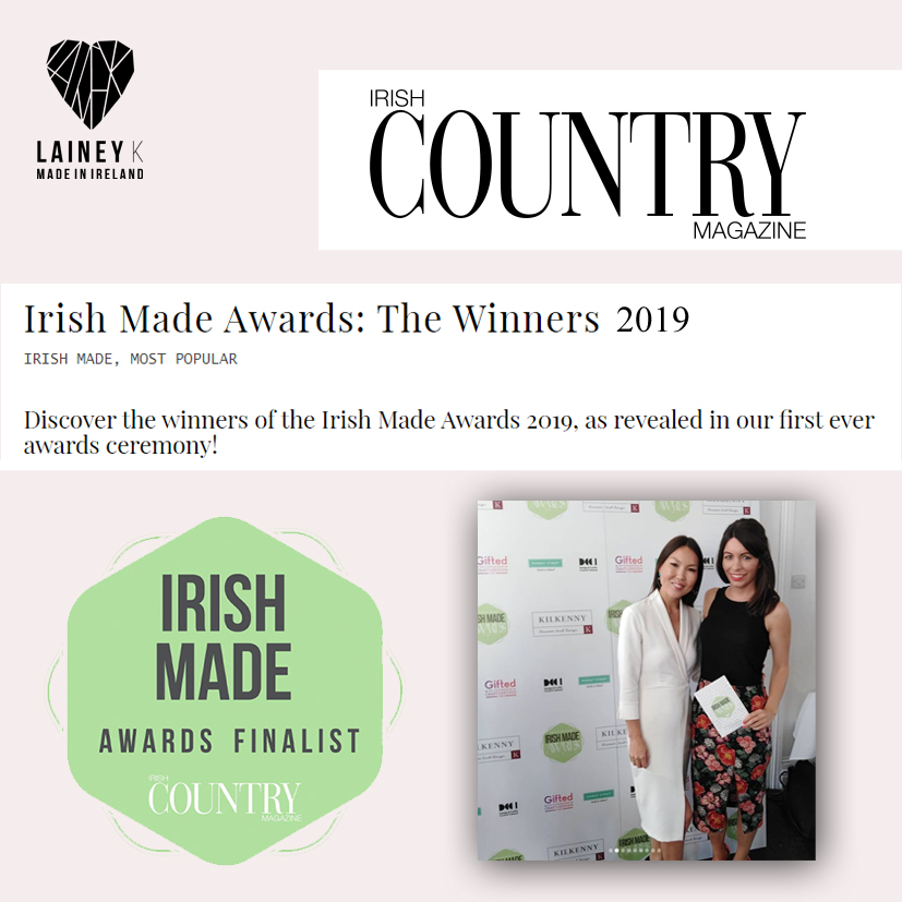 Irish Made Awards, 2020